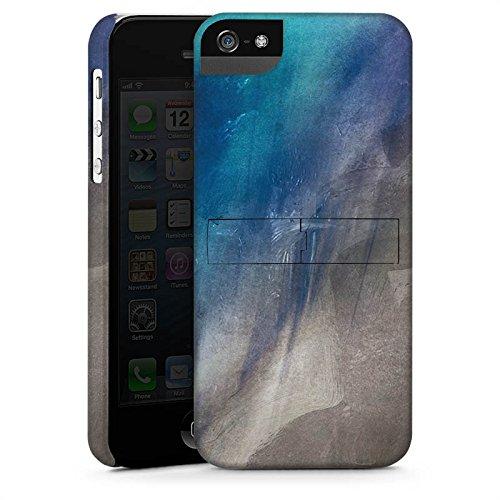 Apple iPhone X Silikon Hülle Case Schutzhülle Wasserfarbe Kunst Pinsel Premium Case StandUp