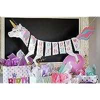 Party Propz Unicorn Happy Birthday Banner For Unicorn Theme Birthday Decoration