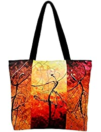 Vj's Ladies Hand Bag With Multi Color (12 Inch * 10 Inch)