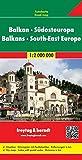 Balkan - Südosteuropa, Autokarte 1:2 000 000, freytag & berndt Auto + Freizeitkarten - Freytag-Berndt und Artaria KG