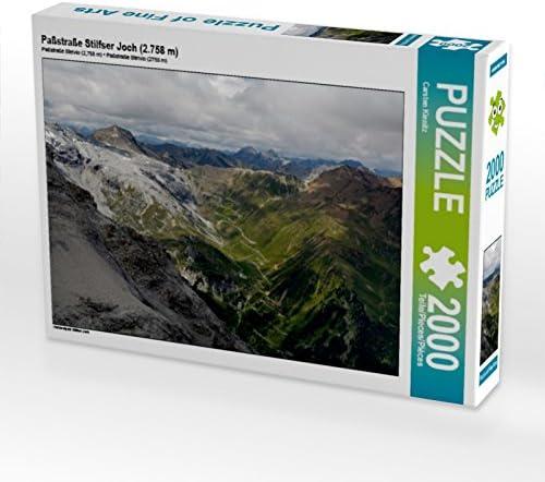 CALVENDO Puzzle Paßstraße Stilfser Joch (2.758 m) 2000 Teile Lege-Grösse 90 x 67 cm Foto-Puzzle Bild Von Kienitz Carsten | Aspect élégant