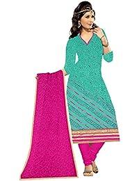 Mahi Fashion Women's Cotton Dress Material (MF18_Free Size_Multi-Coloured)