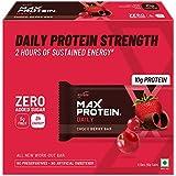 Ritebite Max Protein Daily Choco Berry Bars 300g Pack of 6 (50g x 6)