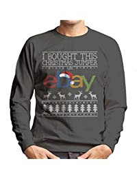 I Bought This Christmas Jumper On Ebay Mens Sweatshirt