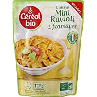 Céréal bio - Cuisiné Mini Ravioli 2 fromages bio - Le sachet de 250g - Pirx Unitaire - Livraison Gratuit Sous...