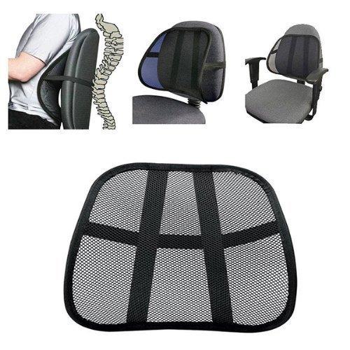Soporte para respaldo de asiento Welim para respaldo de la silla, respaldo de malla, soporte lumbar para asiento de silla de oficina