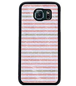 PrintDhaba Pattern D-3480 Back Case Cover for SAMSUNG GALAXY S6 EDGE (Multi-Coloured)