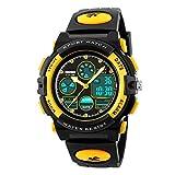 TONSHEN LED Digital Montre Bracelet Outdoor Sport 50M Etanche Analogique Quartz...