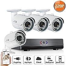 ANRAN 4ch 1080N AHD Sistema di telecamera di sorveglianza QR
