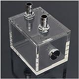 PC Kuehler - SODIAL(R)Neu 200 ml Acryl Wassertank Kuehler Wasserkuehlung Kuehler PC CPU Wasserblock Transparent