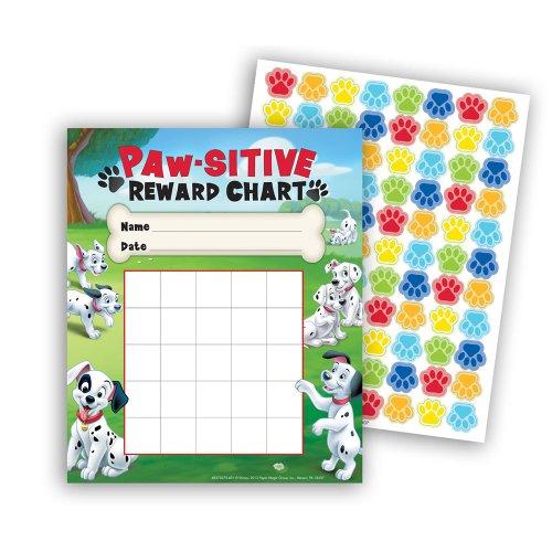 Eureka 101 Dalmatians Paw-Sitive Mini Reward Charts