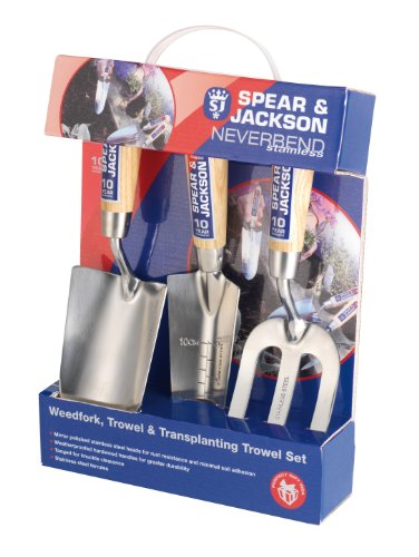 Spear & Jackson Neverbend Stainless Hand Tool Gift Set Test