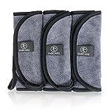 Make-Up Entferner Tuch (3er Set) - Premium Mikrofaser Abschminktuch 40x18cm - Abschminken nur mit Wasser - hypoallergenes Gesichtsreinigungstuch