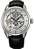 Orient Star Classic 'esqueleto completo 50horas de reserva Sapphire Hand Winding vestido reloj dx00002W