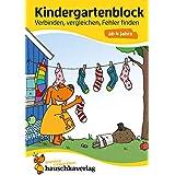 Kindergartenblock - Verbinden, vergleichen, Fehler finden ab 4 Jahre, A5-Block: 622