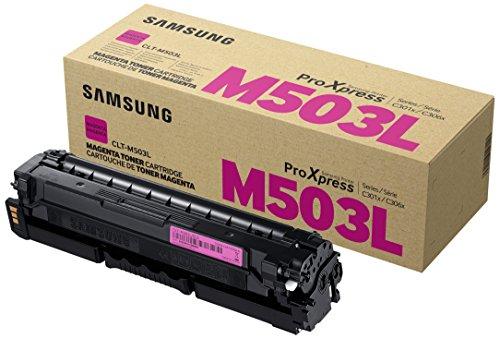 Preisvergleich Produktbild Samsung CLT-M503L/ELS Original Toner Magenta - Kompatibel mit: SL-C3010ND | C3060FR