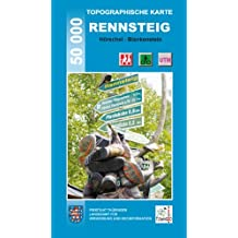 Topographische Karten Thüringen, Rennsteig, 5 Bl.