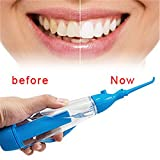 Dental SPA Oral Irrigator, Goodsmiley Water Pick Portable Flosser Air Pressure Cleaner Teeth