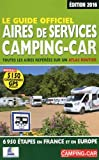 Le Guide officiel des Aires de Services Camping-car 2016