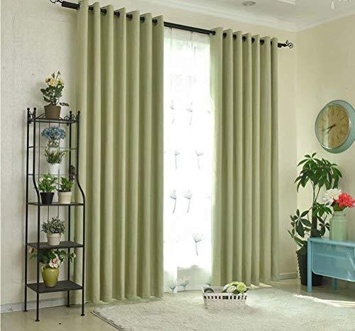Bambus-panel (BAIF Hotel Wohnzimmer Umweltschutz Bambus Baumwolle Vorhang hochwertige präzision verdunkelungsvorhang 160 cm x 250 cm (breite x höhe) 2 Panels)