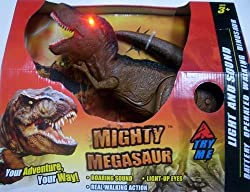 Mighty Megasaur Light and Sound Battery Operated Tyrannosaurus rex