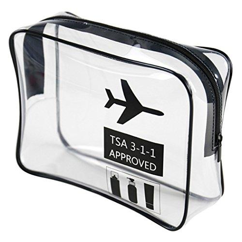 Kapmore Imperméable Articles de Toilette Sac Portable Maquillage Sac Multifonctionnel Cosmétique Sac Avion Modèle Cosmétique Poche
