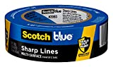 ScotchBlue 2093EL-36N - Cinta adhesiva para pintores (multisuperficie, 38,1 mm x 54,8 m, 1 rollo)
