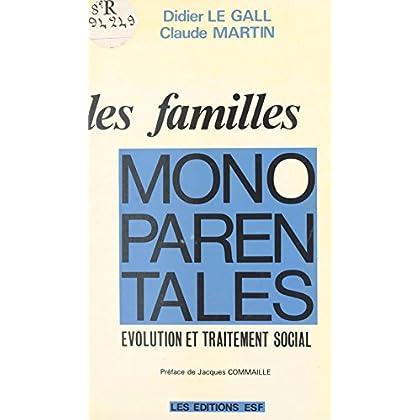 Les familles monoparentales : évolution et traitement social (Social Hors Collection)