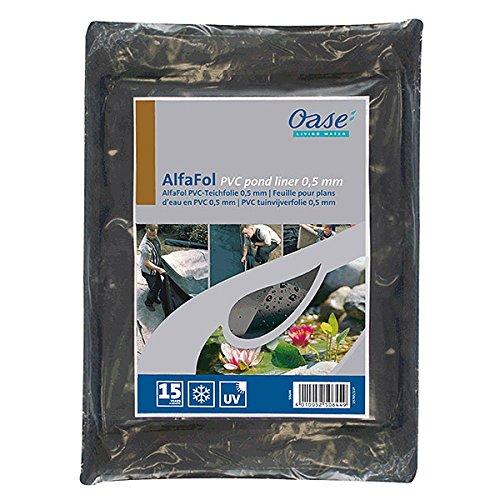 OASE Folien AlfaFol Pre-Packed, 0,5 mm / 6 x 5 m, schwarz