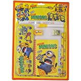 Parteet Mix Stationery Gift Set With Writing Board And Metal Pencil Box For Kids (Mickey Mouse)