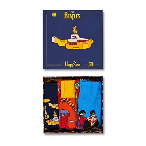 Happy Socks Giftbox The Beatles Collectors Box 3-pack