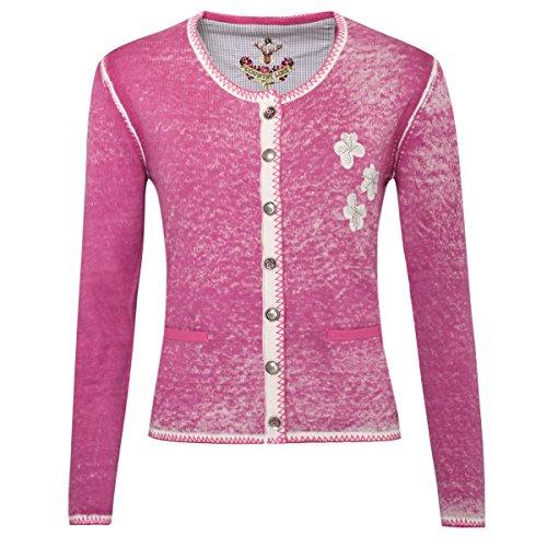 Trachtenjacke Cleo in Pink von Country Line, Größe:38, Farbe:Pink