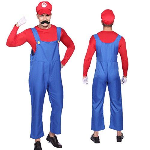Imagen de cle de tous  disfraz de mario bros para adulto hombre cosplay dress fiesta carnaval halloween talla xl alternativa