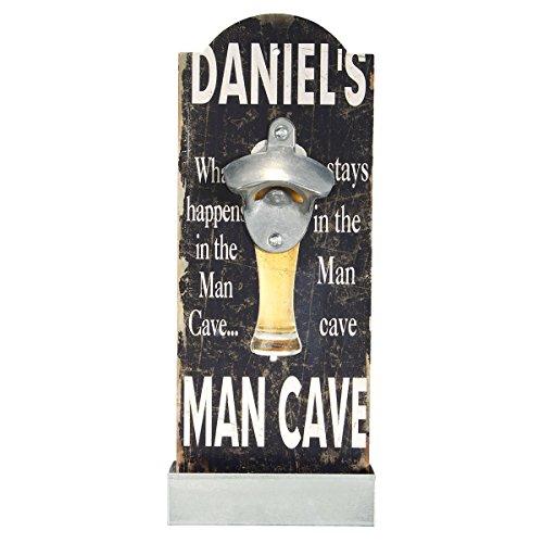 Bluelover Vintage Holz Wand Bar Pub Bier Soda Top-Flasche Öffner Korkenzieher Cap Catcher Geschenk-3#
