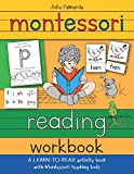 Montessori Reading Workbook: A LEARN TO READ activity book with Montessori reading tools