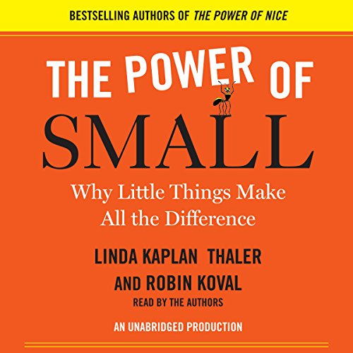The Power of Small  Audiolibri