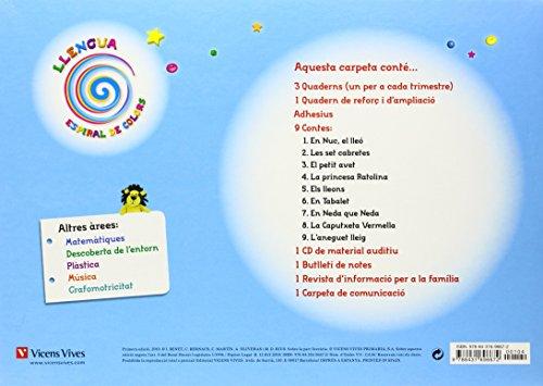Espiral De Colors. Llengua. Catalunya. 4 Anys (Espiral Magica Material Alumno) - 9788431696672