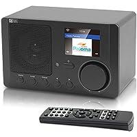 Ocean Digital Radio Internet WR-210CB WiFi Bluetooth sans Fil Lecteur Couleur Affichage - Noir