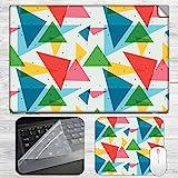 Triangular Colorful Pattern Laptop Skin ...