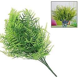 Künstliche Spargel Farn Pflanze , 1 Stück 7 Branchen