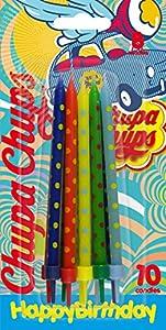 Cereria de Giorgio ch0000810velas Chupa Chups Pastel Maxi A Lunares Con Soporte
