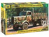 Zvezda 500783596 - 1:35 WWII Deutsche Transport-LKW L4500A