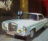 Blechschild Mercedes Caupe 220/250/280/SE