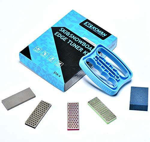 Side Edge Bevel (xcman Alpine Freeride Snowboard Edge Wate Tuning Kit Diamant File Guide Gummi Schleifmittel Block)
