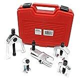 WilTec Coffret Arrache rotules de Suspension Kit Extracteur Rotules Outils Jeu