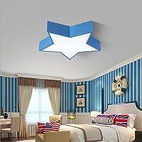 Lámpara De Techo Para Cuarto De Niños Lámpara De Dormitorio Para Niños Lámpara De Techo Para Lámpara De Jardín De Infantes Para Niños,Blue