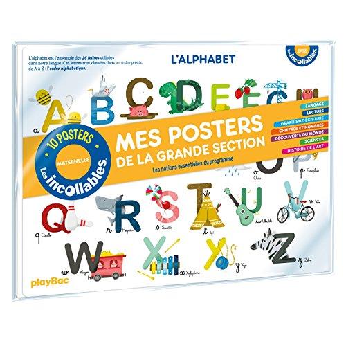 Les incollables - Mes posters de la maternelle - Grande Section par Collectif