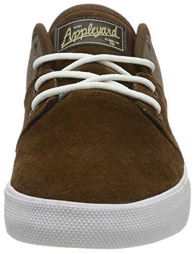 Globe Herren Mahalo Low-Top Braun (Dark Earth/Marron Walnut)