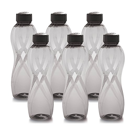 Cello Twisty PET Bottle Set, 1000ml, Set of 6