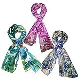 Fashion Junglee 100% Pure Silk Stole Set, Dupattas for Women